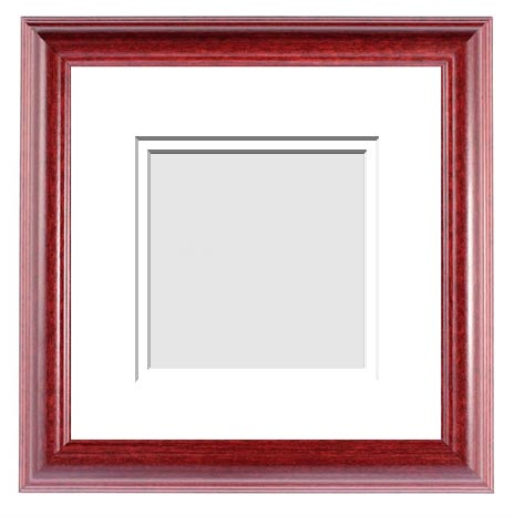 CLASSICS COLLECTION : ( Double Matted Frame )  Image-Sizes 6x6 up