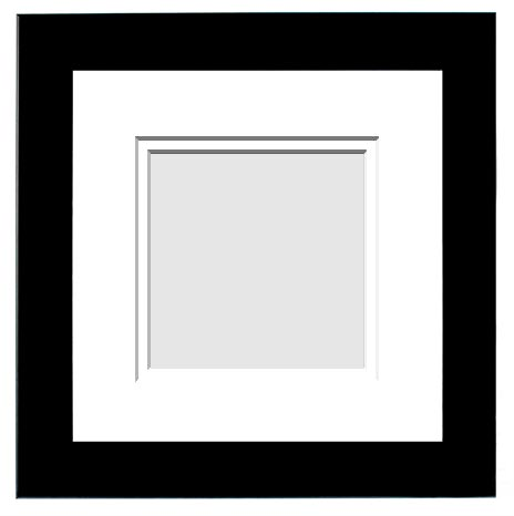 Double Matted PICTURE FRAMES 4 x 4 to 4.5 x7.5 Designer Frame Sizes