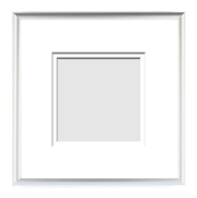 :: METALS COLLECTION :: ( Double Matted Frame )  Image-Sizes 5x5 up