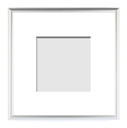 :: METALS COLLECTION :: ( Single Matted Frame )  Image-Sizes 2x2 up