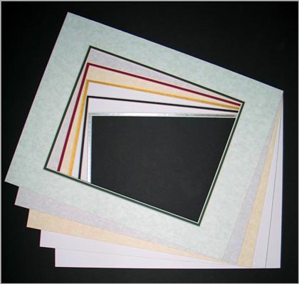 11 x 14 DOUBLE MAT for 8 x 10 Image - 3 Pack • Factory Closeout • OVERSTOCK ITEM
