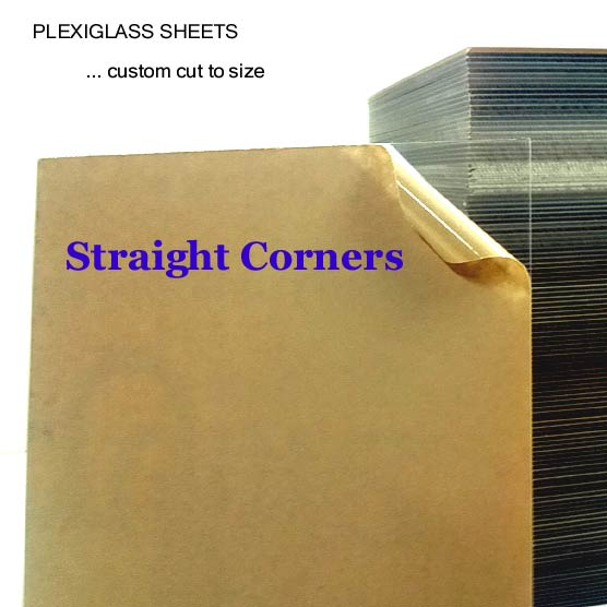 Plexiglass Acrylic Sheet Sizes 3 X 3 To 18 X 24 Custom Cut