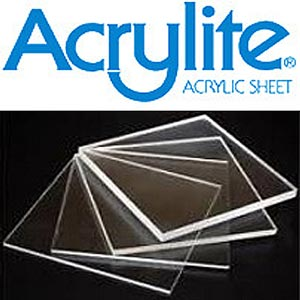 SORRY ~ TEMPORARILY OUT OF STOCK - PLEASE CHECK BACK ... <br>ACRYLITE ® PLEXIGLASS - Clear Acrylic Sheets { MUSEUM-GRADE } - Paper Mask