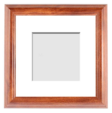 CLASSICS COLLECTION : ( Single Matted Frame )  Image-Sizes 9x9 up