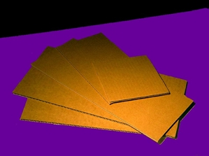 Cardboard Backing - Corrugated Board