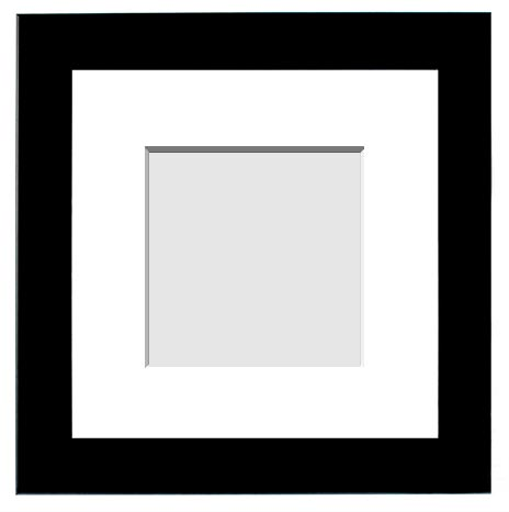 DESIGNER COLLECTION : ( Single Matted Frame )  Image-Sizes 9x9 up