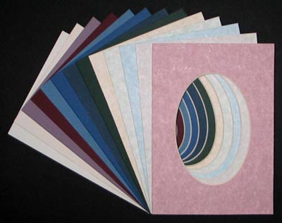 5 X 7 SINGLE MATS for 3.5 x 5 Image - ( 10 Pack ) • Factory Closeout • OVERSTOCK ITEM