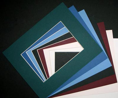 8 x 10 SINGLE MATS for 5 x 7 Image - ( 8 Pack ) • Factory Closeout • OVERSTOCK ITEM