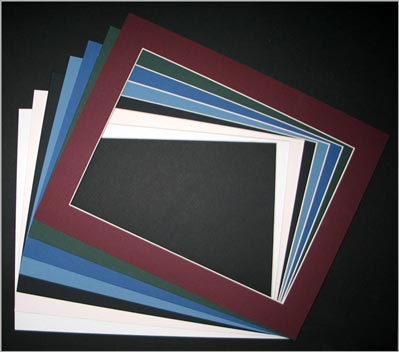 11x14 SINGLE MATS • 8.25 x 11.25 Opening - ( 6 Pk ) • Factory Closeout • OVERSTOCK ITEM