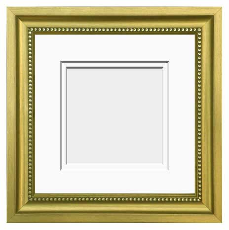 Double Matted Tuscan Gold Frame